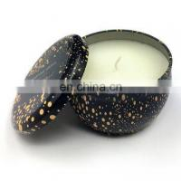 Quality Wholesale round ball shape metal scented travel candle tin for sale