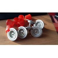 China Valve And Red Cap For 65mm Butane Gas Canister on sale