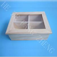 China Natural Wooden Tea Box on sale