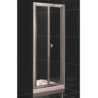 China Bi-fold Door Shower Enclosure with Side Panel on sale