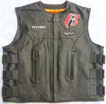 China Ruff Ryder Vests Leather Vest For RR