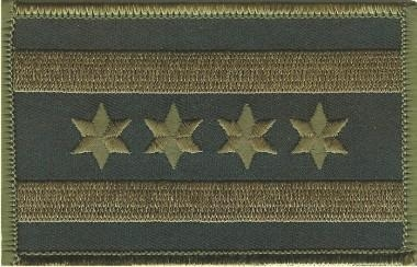 China Camo Patches AAE 439