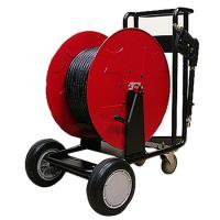 Buy cheap English High pressure water hose reel cart | fire equipment from wholesalers