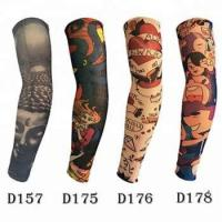 Quality KaPin high quality printed custom sports protective arm cover tattoo elastic a for sale