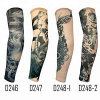 Quality KaPin fashion men women arm cover custom tattoo printed arm sleeves for cycling sports for sale