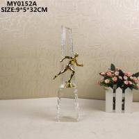 Buy cheap Glass craft Glass Sport Trophy from wholesalers