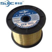 Buy cheap Wire Cutting EDM Consumable Brass Wire from wholesalers