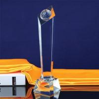 Quality Crystal Special Shape Ball Award Trophy for sale