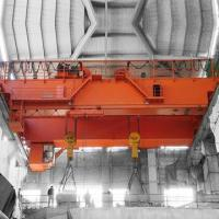 Buy cheap Double Girder Overhead Crane Mobile Double Trolley Electric Overhead Traveling Crane from wholesalers