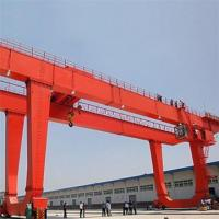 Buy cheap Double Girder Gantry Crane 16 tons two hooks double girder gantry crane from wholesalers