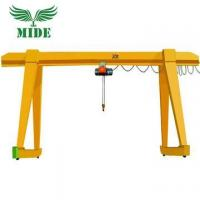 Buy cheap Single Girder Gantry Crane 5 ton to 20ton Electric Hoist Gantry Crane from wholesalers