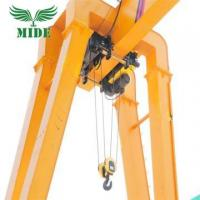 Buy cheap Single Girder Gantry Crane Box type 20 ton electric hoist gantry crane from wholesalers