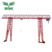 Buy cheap Single Girder Gantry Crane 20 ton Max. 9 meter gantry crane from wholesalers