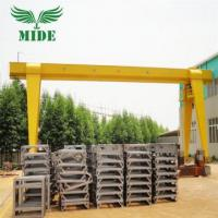 Buy cheap Single Girder Gantry Crane 3 ton Electric Hoist Single Girder Gantry Crane from wholesalers
