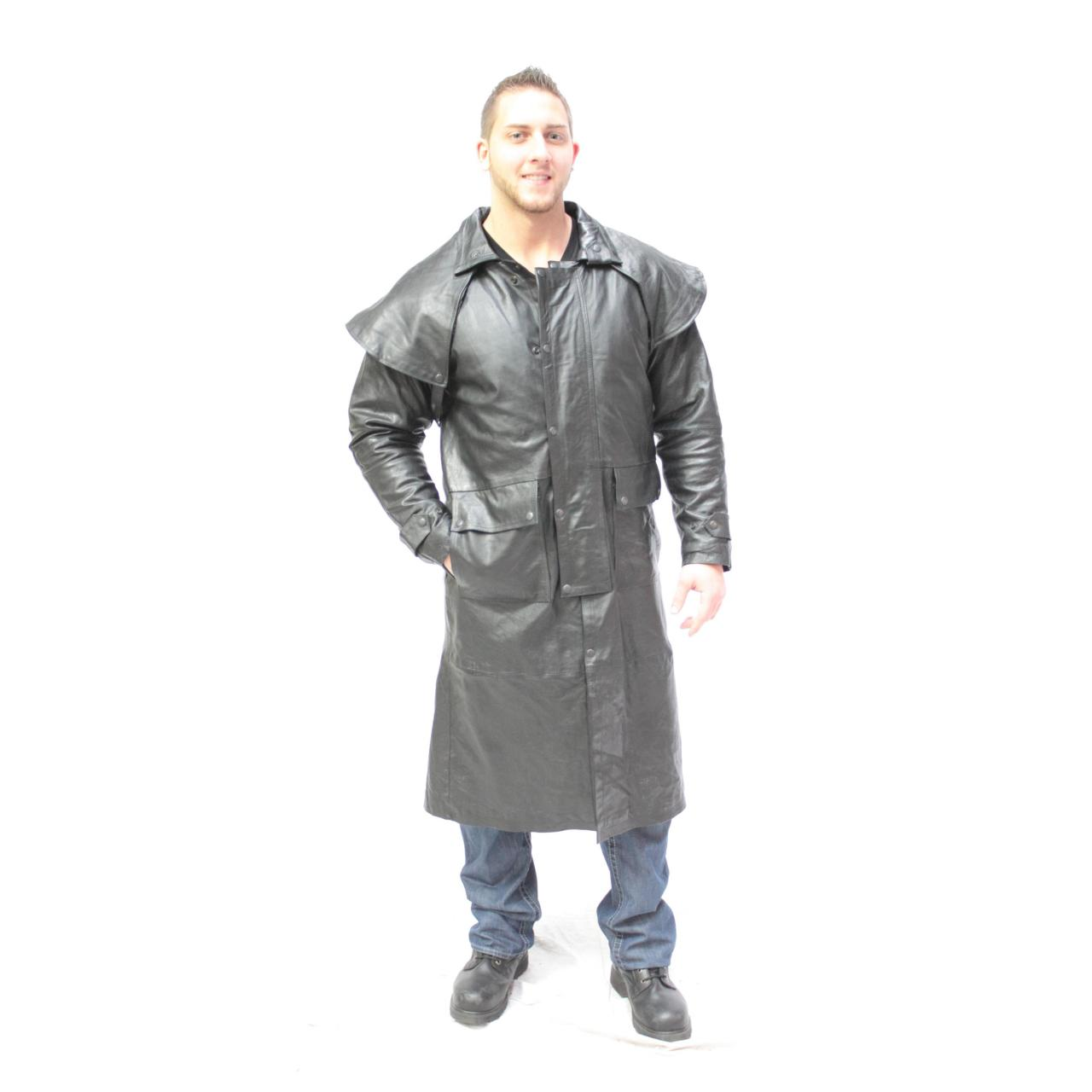 China Leather r Duster on sale