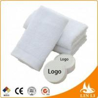 Buy cheap cotton compressed towel disposable bath towel for traveling hotel from wholesalers