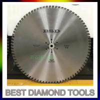 Quality 800mm 1000mm 1200mm 1600mm Diamond Concrete Wall Saw cutting Blade for sale