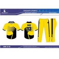 Quality Colored Cricket Clothing for sale