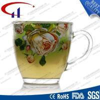 Crystal Juice Glass Cup With Hand By COHUY,200ML