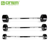 Quality FREE WEIGHT RUBBER COATED BARBELL ITEM NO: OT3135 for sale