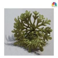 China New Style Glitter Christmas Artificial Flower Stem on sale
