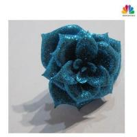 China Top Quality Glitter Christmas Artificial Flower Petal on sale