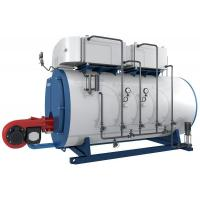 WNS Integral Gas or Oil Fire Tube Condensing Steam Boilers