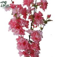 China Factory Price Artificial Flower Stem Oriental Cherry on sale