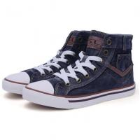 China New style 2017 black boys leisure shoes canvas shoes on sale