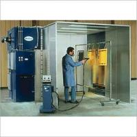 Quality down drft painting booth for sale