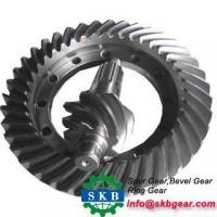 Buy cheap Straight Bevel Gears with Special Hub from wholesalers