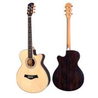 High Grade Solid Spruce Wood 40'' Acoustic Guitar Cutaway