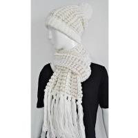 Quality Natural material hat & scarf set hat & scarf set for sale