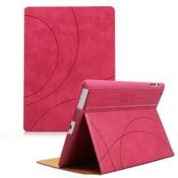 newest ultra-slim stand PU leather for ipad classic case