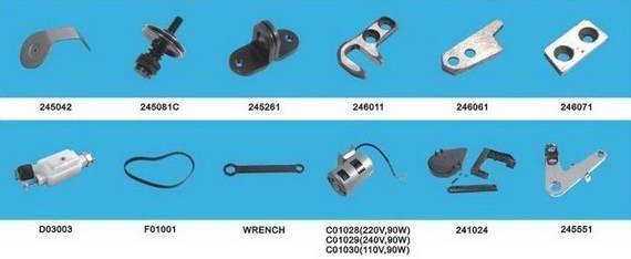 Buy Sewing Machine NP-7A / 26-1A Bag closing parts 2 at wholesale prices