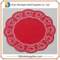Quality Red Paper Doilies for sale