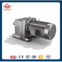 China Guomao R Series Inline Helical Gear Motor Gearbox on sale
