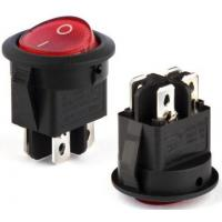 China Rocker switch series SPDT 4 pin double pole electrical rocker switch RS601D on sale