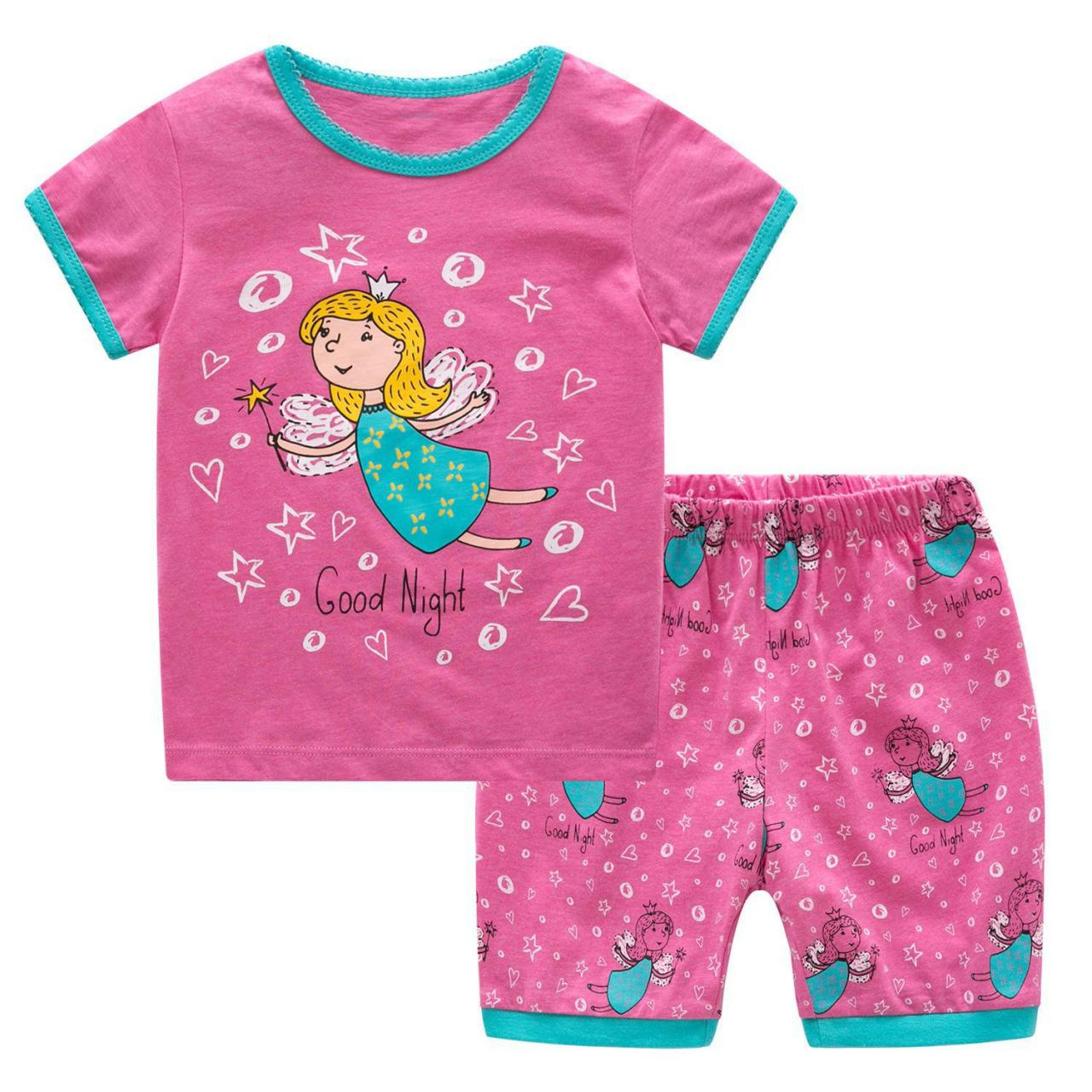 Quality Summer Wear Child Shorts Fashion Pajamas Clothes For Kid for sale
