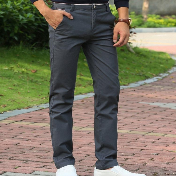 China Slim Formal Business Straight Man Pants Long Suit Trousers