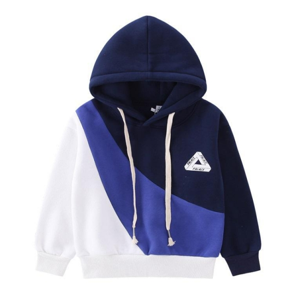 China Wholesale winter pullover hoodie children quilted pullover boy pullover