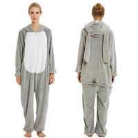 Quality rabbit hoodies fleece plus size unicorn onesie pajamas for sale
