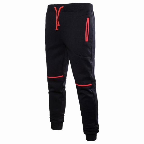 China New Top Quality Latest Mens Slim Fit Tracksuit Sport Gym Skinny Jogging Joggers Sweat Pants Trousers