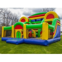 Quality Giant inflatable Children happy play park for sale