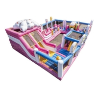 Quality Giant inflatable candy bouncy castle for sale