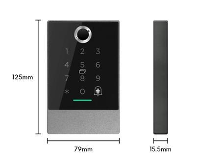 China Bluetooth smart lock for Wooden or Metal door