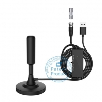 Buy cheap Round Head Magnetic Base Indoor Digital TV Antenna from wholesalers