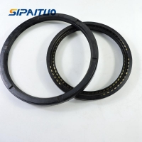 Buy cheap Spring-Loaded Rotary Shaft Seals with Wiper Lip from wholesalers