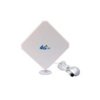 Quality External 4g Antenna With Sucker High Gain 28dbi for sale