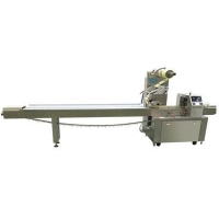 Quality Automatic Chocolate coated wafer flow wrapper packing machine for sale